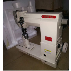 Zhen Hu Post-Bed Roller Feeding Driven Industrial Sewing Machine pictures & photos