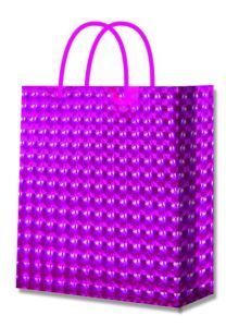 High Quality Metallic Matte Luxury Paper Shopping Bag pictures & photos