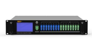 Aot1550-02-22 CATV 1550nm Fiber Amplifier EDFA with Pon Port