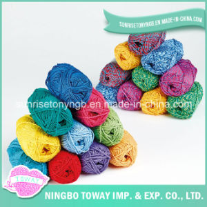 Fancy Yarn Weaving Gloves Knitting Yarn Acrylic Yarn pictures & photos