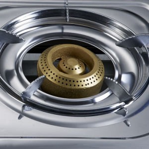 Stainless Steel Double Burner Gas Stove, Blue Fire Jp-Gc204L pictures & photos