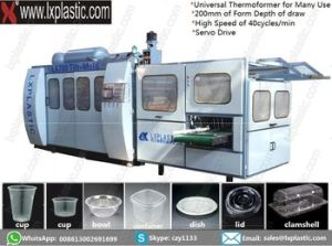 Tilt-Mold Thermoforming Machines pictures & photos