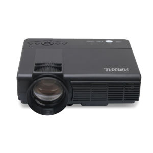Video Projector, 1000 Lumens 170 Inch LCD LED Portable Projector pictures & photos