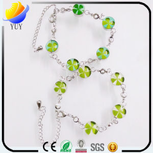 DIY Accessories Resin Natural Flower Bracelet pictures & photos