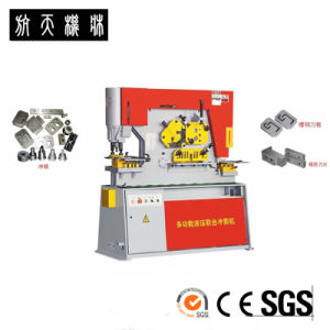 HangLi rand Metal Sheet Punching, Shearing and Notching Ironworker pictures & photos