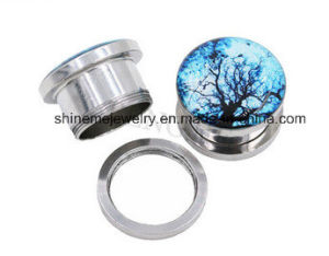 Fashion Body Piercing Flesh Tunnel Fake Plug pictures & photos