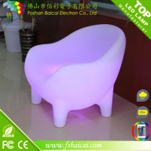 Romantic Lighting LED Chair Used Hotel Outdoor Furniture pictures & photos