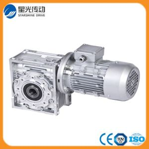 Nmrv Aluminum Worm Reducer Electric Motor pictures & photos