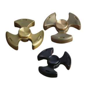 EDC Tri-Spinner Metal Pattern Toy Adult Children Educational Fidget Spinner pictures & photos