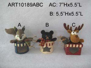 Squirrel, Bear and Moose Woodland Christmas Giftbox pictures & photos