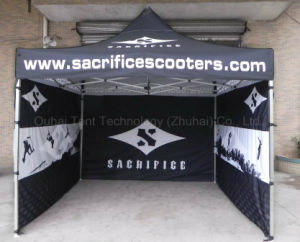 3m X 3m Folding Marquee with Double-Side Logo Printing