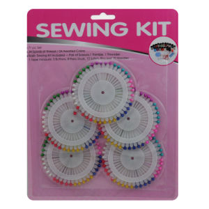 Sewing Kit Head Pin Set for Decorative with Different Shape