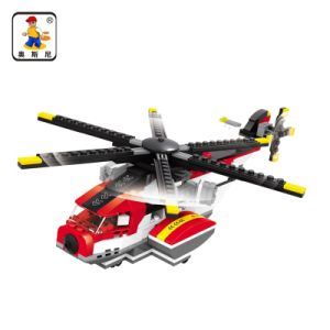 Kids Plastic 3 in 1 Helicopter Blocks 427PCS Toy pictures & photos