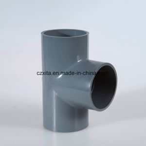 PVC Pipe Fitting Tee/ Socket Tee pictures & photos