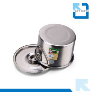 Multi-Size Stainless Steel Sauce Bowl/Condiment Pot/Flavour Cup/Container with Lid pictures & photos