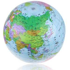 PVC 40cm Nice Printing Inflatable Globe Ball for Study pictures & photos