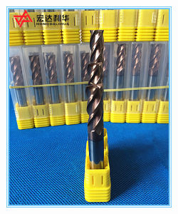 Solid Carbide Flat Ball Nose End Mills for Metal Cutting pictures & photos