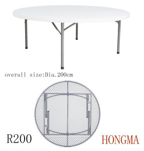 200cm Round Table R200 Round Dining Table and Chairs