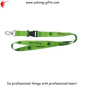 Custom Company Meeting Neck Lanyard with Detachable Buckle (YH-L1247) pictures & photos