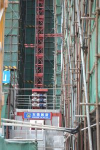 Construction Building Hoist Elevator Crane pictures & photos