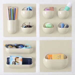 Multifunction Toothbrush Holder Kitchen Bathroom Stand Set Wall Mount Rack pictures & photos