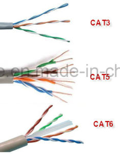 Hot Sale Cheap Factory Price UTP FTP 4 Cores CAT6 pictures & photos