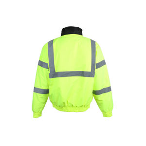 100% Polyester Lightweight Waterproof Reflective Safety Winter Jacket pictures & photos