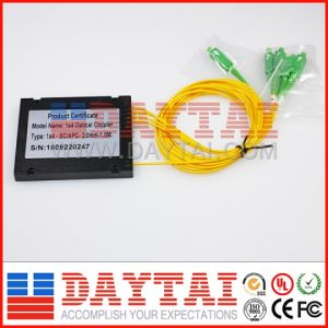 1X4 ABS Box Type Fiber Optic Coupler pictures & photos