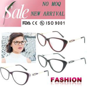 Acetate Frame China New Eyewear Glasses Wholesale Women Cat Eye Optical Frame pictures & photos