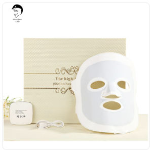 LED Light Photon Therapy Face Rubber LED Facial Mask pictures & photos