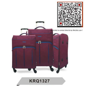 Superlight Fashion 4wheels Inside Trolley Travel Bag (KRQ1327) pictures & photos