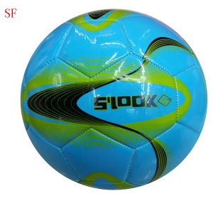 Machine Stitched PVC Soccer Ball pictures & photos