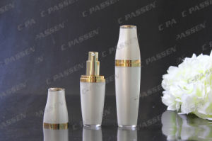 High-End Pearl White Acrylic Lotion Bottle for Cosmetic Packaging (PPC-ALB-050) pictures & photos