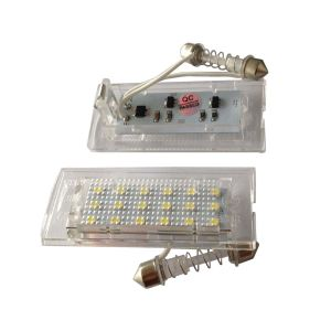 E53 5series X5 Car LED License Plate Light, Courtesy 3528 SMD Bright Light