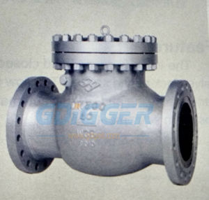 H44n Carbon Steel Gas Check Valve, Swing