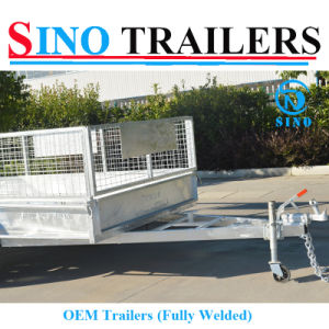 12X6 Dual Axle Tandem Box Trailer Fully Welded OEM Trailer pictures & photos