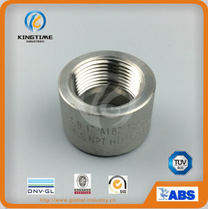 "A182 F316L 1"" Stainless Steel Smls NPT Half Coupling (KT0578) pictures & photos"