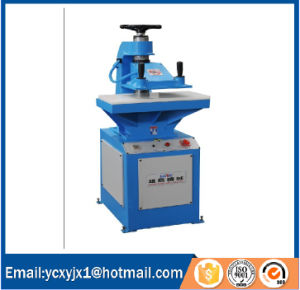 10t Hydraulic Swing Arm Cutting Machine for Leather pictures & photos