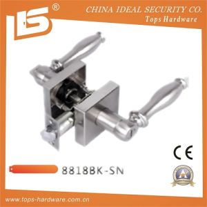 Heavy Duty Zinc Alloy Tubular Lever Lock (8818BK SN) pictures & photos