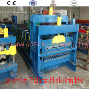 Automatic Glazed Tile Roll Forming Machine pictures & photos