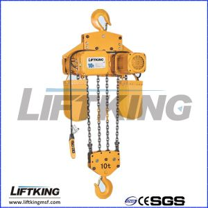Liftking 0.25t Kito Type Electric Chain Hoist with Electric Trolley pictures & photos