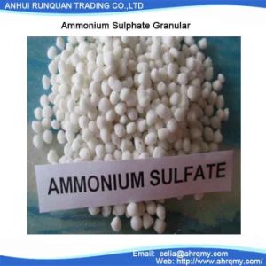 Hot Sale and Perfect Quality Nitrogen Fertilizer Ammonium Sulphate Granular N 21% pictures & photos