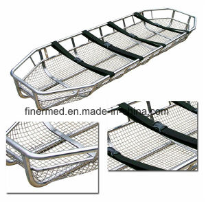Junkin EMS Lightweight Stainless Steel Basket Stretcher pictures & photos