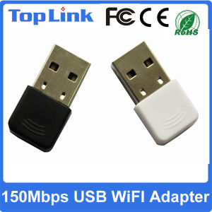 Low Cost Mini 150Mbps USB Wireless Network Card with Ce FCC Support Soft Ap Mode pictures & photos