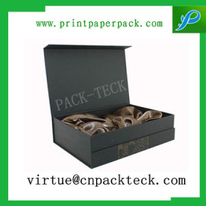 Luxury Textiles Paper Storage Cardboard Gift Box for Bottle Packaging pictures & photos
