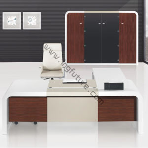 Modern Concise Wooden Manager Office Furniture Set pictures & photos