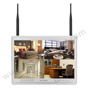 "8CH 720p Wireless Best NVR Camera System with 12.5"" LCD Screen pictures & photos"