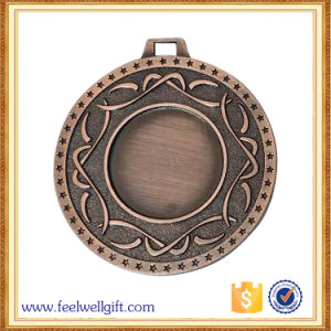 Antique Red Bronze Plating Blank Insert Medal for Award pictures & photos