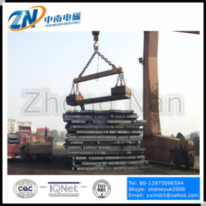 Lifting Electro Magnet for Steel Billet, Girder Billet and Slab MW22-250100L/1 pictures & photos