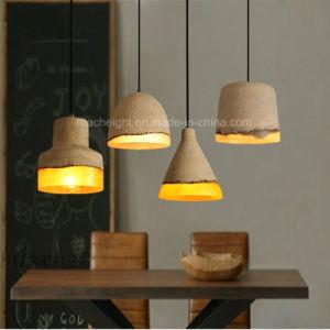Modern Decorative Hanging Concrete Pendant Light Lamp pictures & photos